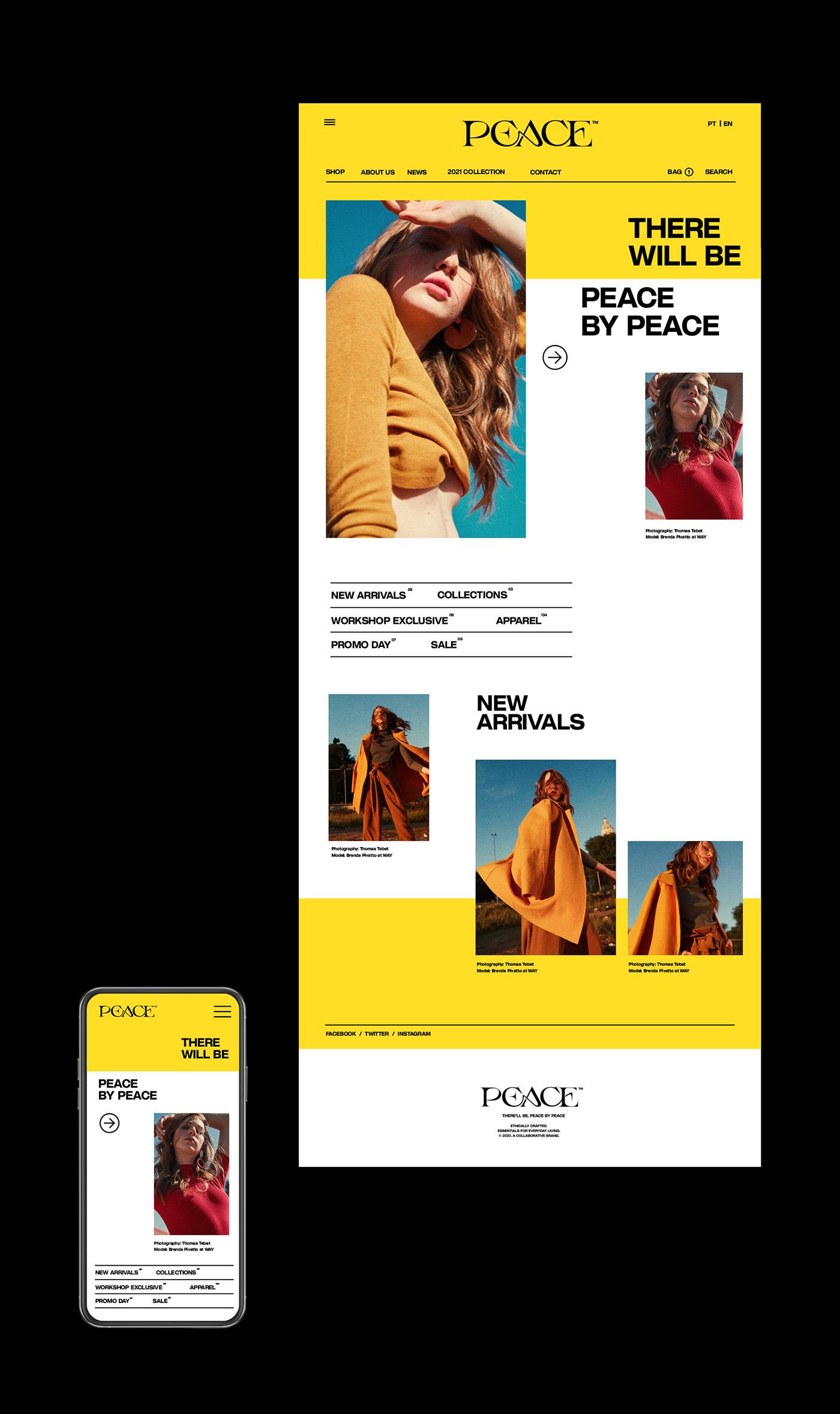 branding  Fashion  identity logo magazine modern poster serif typography   Brutalism