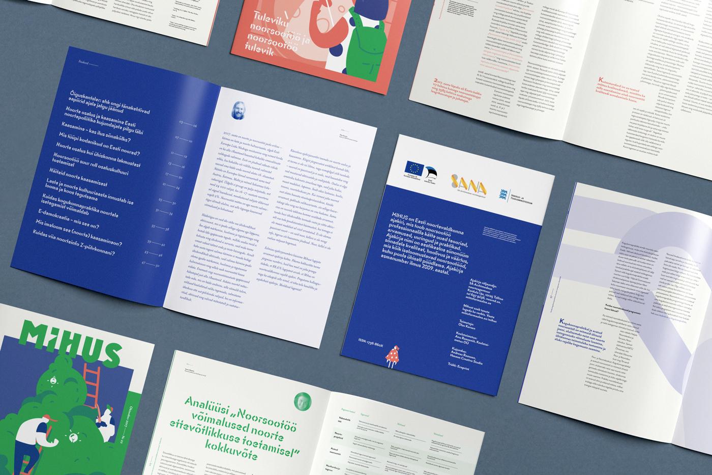 print magazine Zine  editorial design  Editorial Illustration academic Estonia