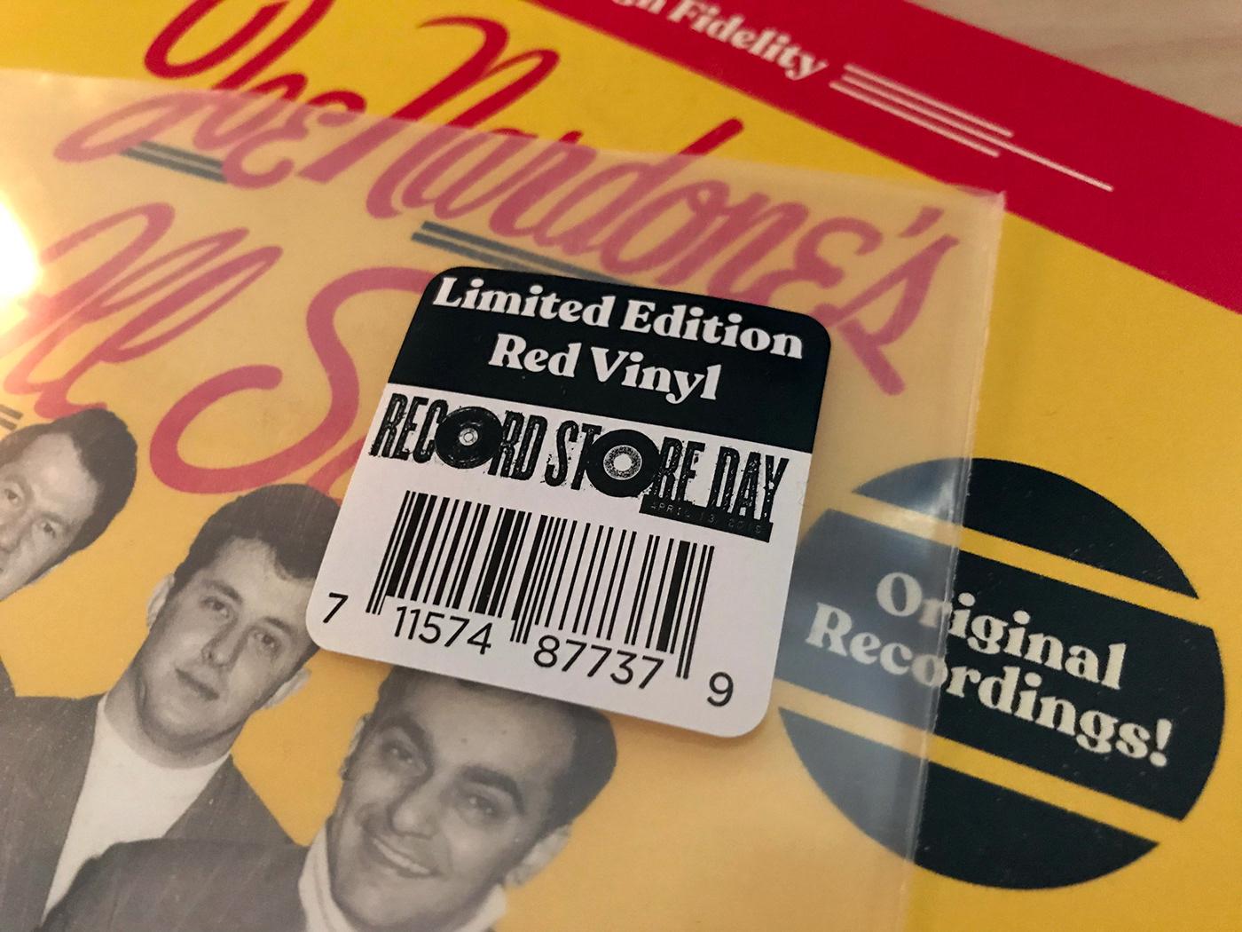 RSD vinyl Record Store Day doo wop 60's vinyl design vinyl collector