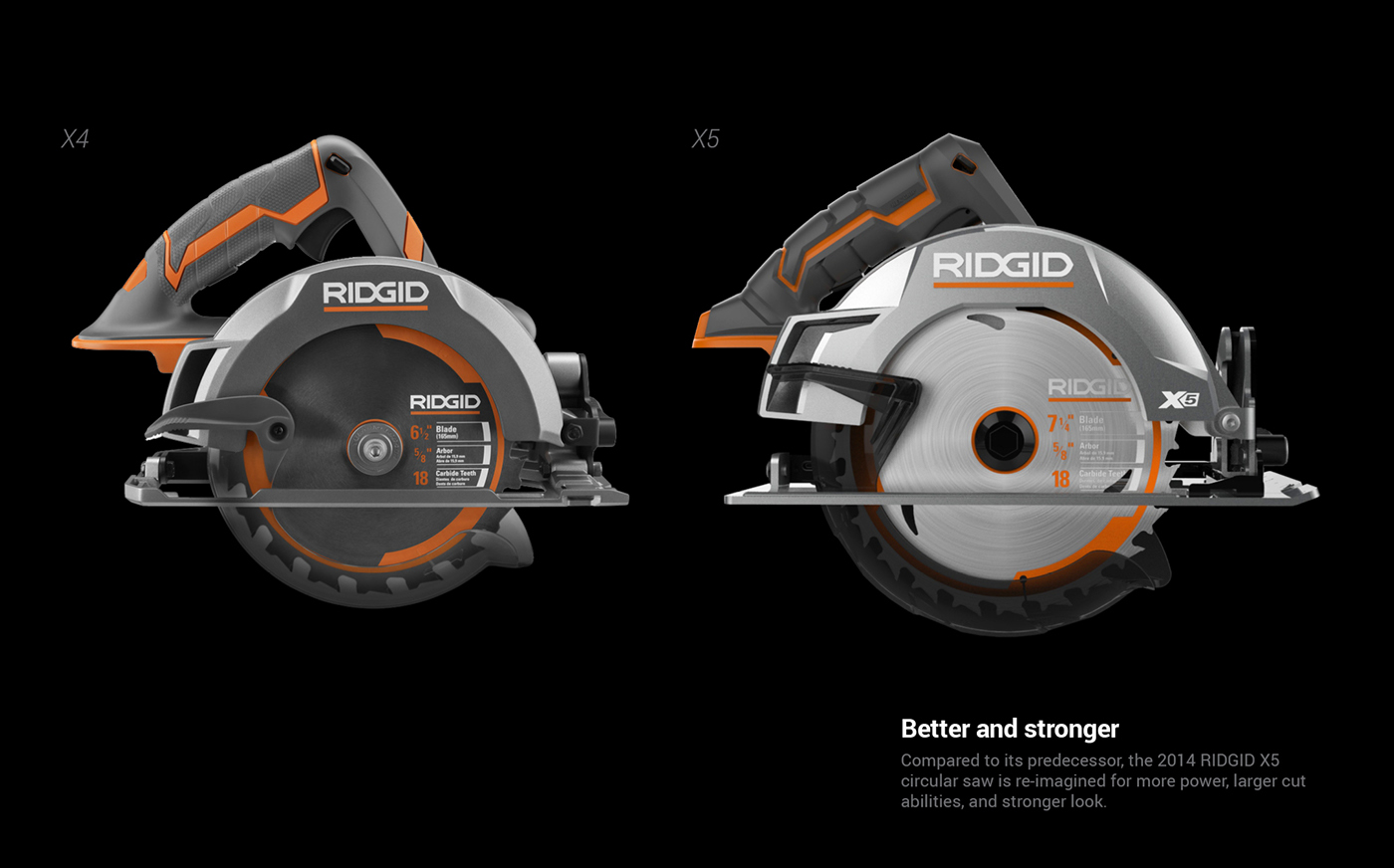 how to change rigid circular saw