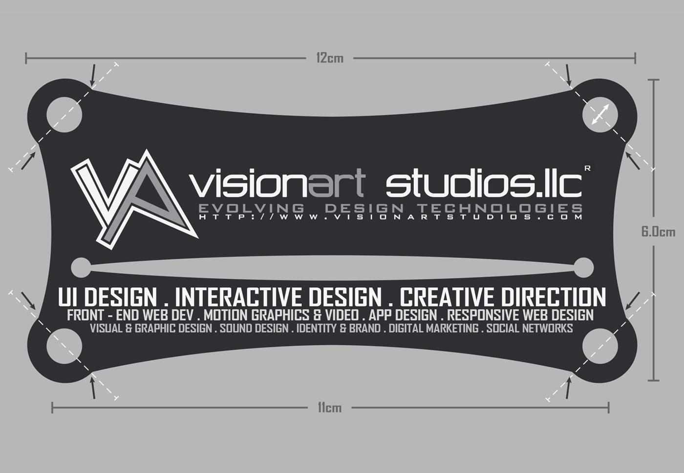 konstantinos papalazarou papalazarou konstantinos VisionArt vision art studios visionartstudios evolving design technologies business card personal card print matrix wacom intuos pro large