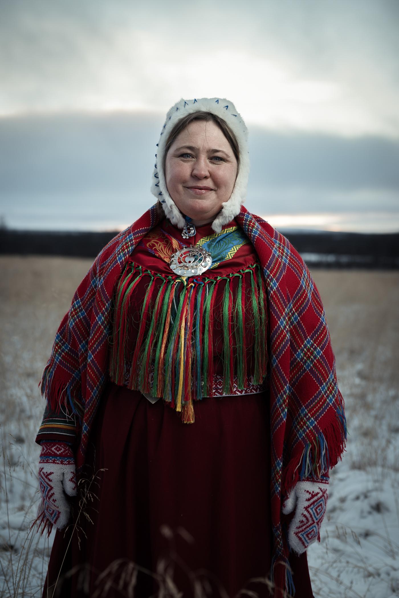 Adobe Portfolio portraits portrait indigenous sami norway Scandinavia