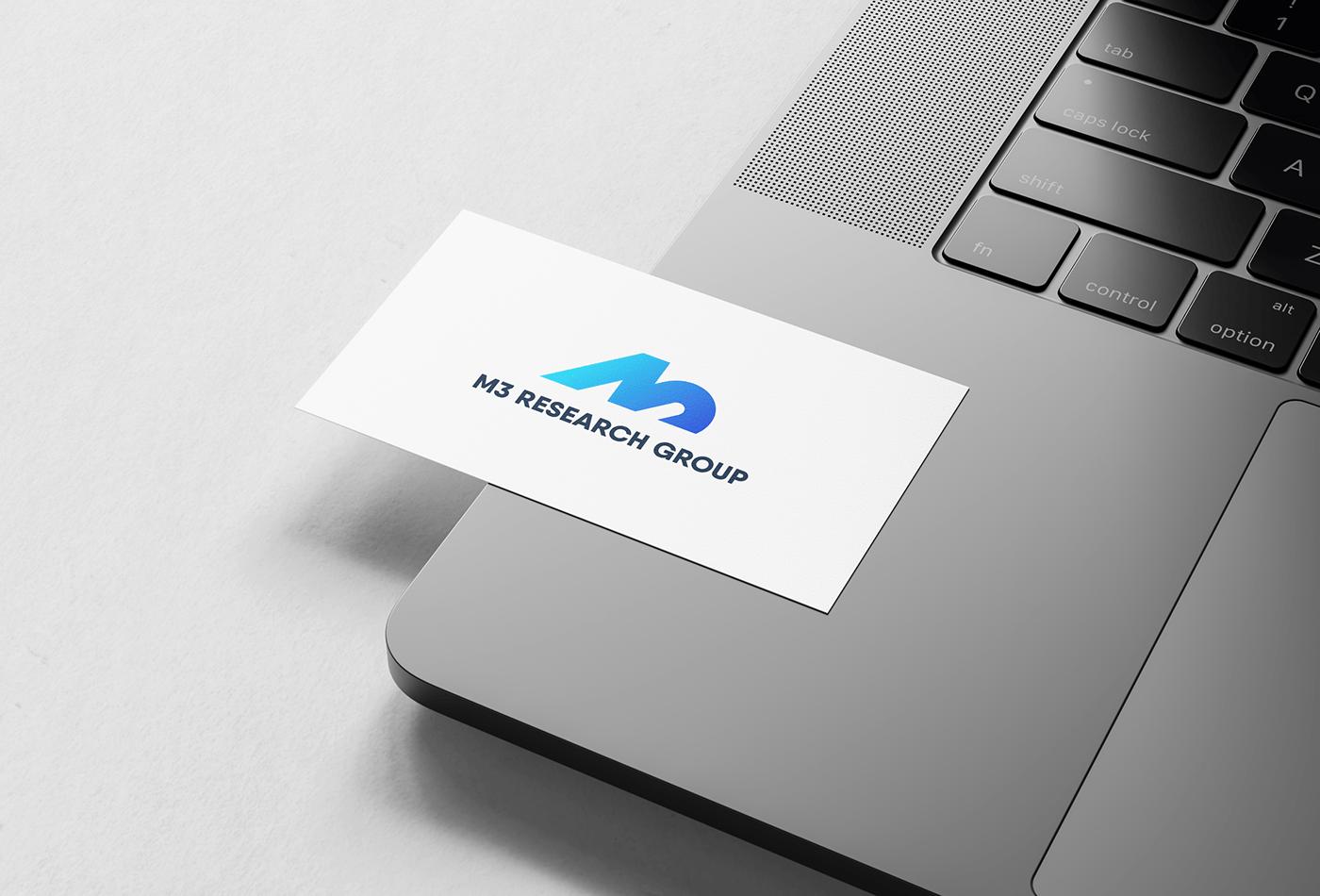 branding  research Research Lab University Health xD Logo Design