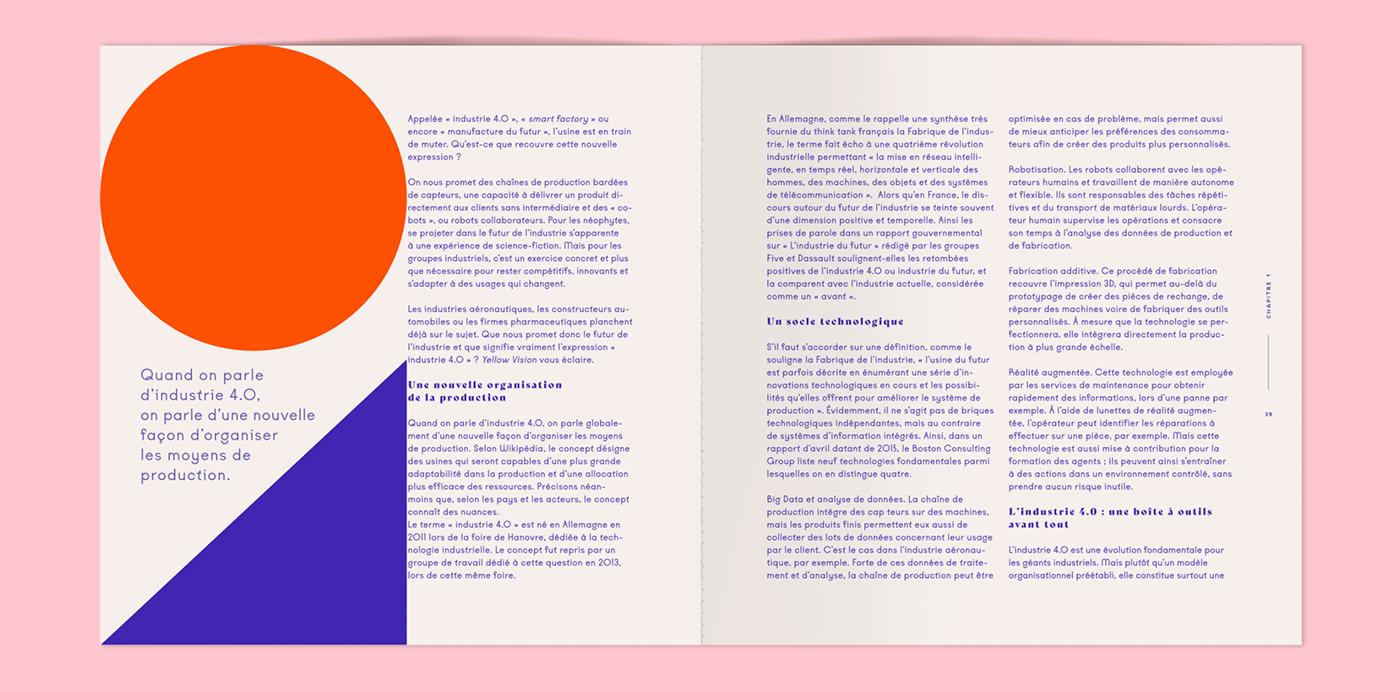 typography   yellow vision animation  animated poster type kobe Violaine & Jeremy pink pantone editorial
