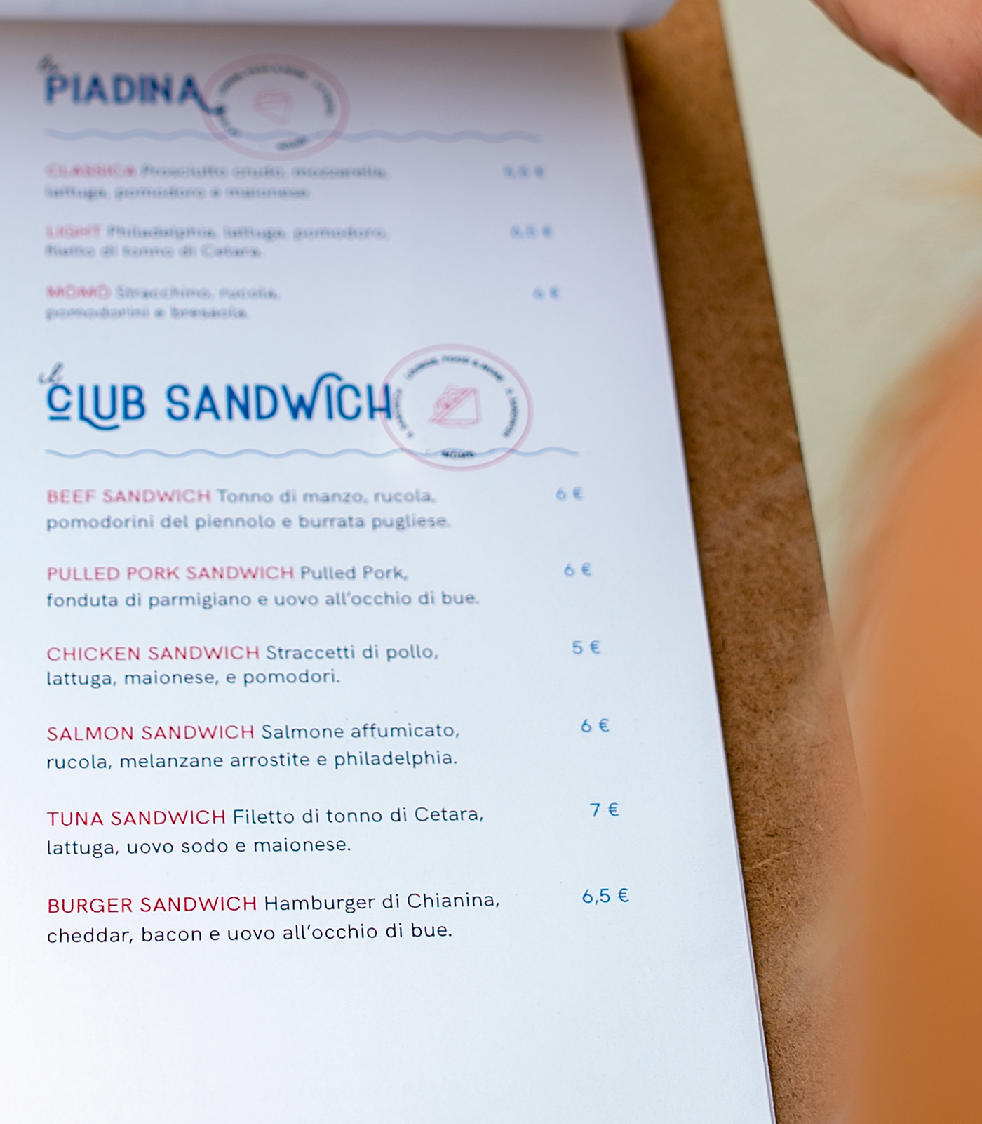 Food  menu design InDesign Layout pub Icon Nature hamburger Behance