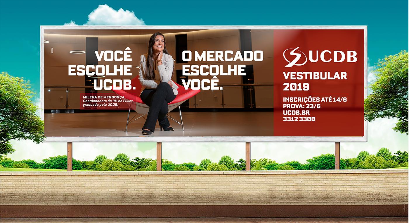 Propaganda vestibular universidade Outdoor campanha Filme mercado de trabalho faculdade ad University