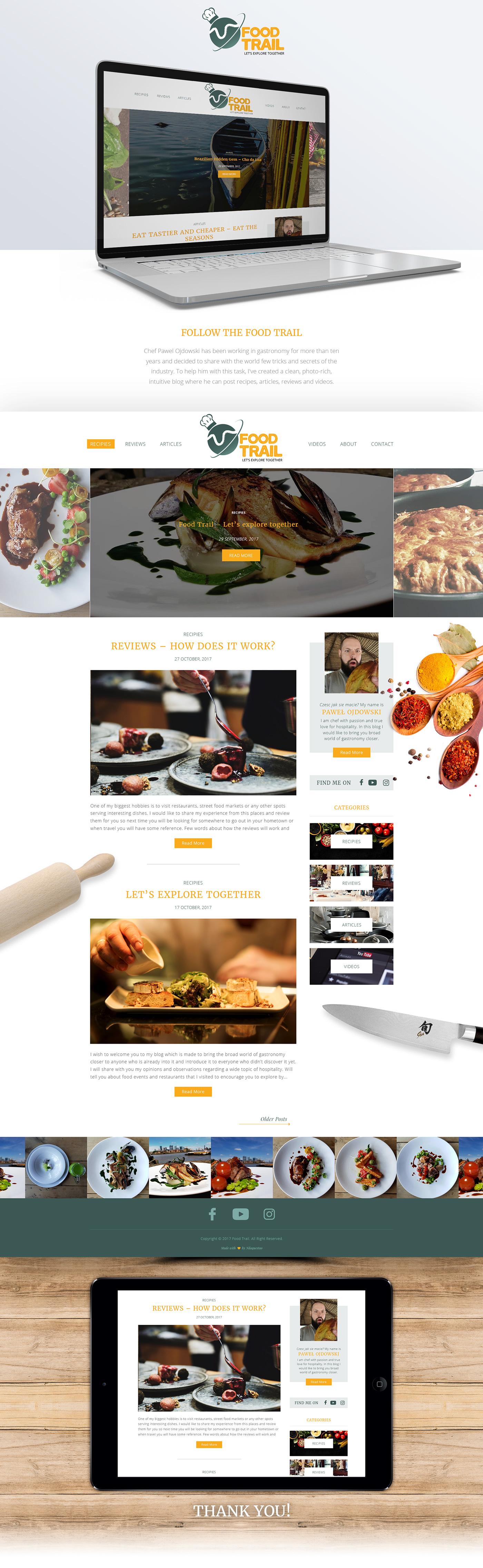 gastronomy,Blog,Web Design ,design