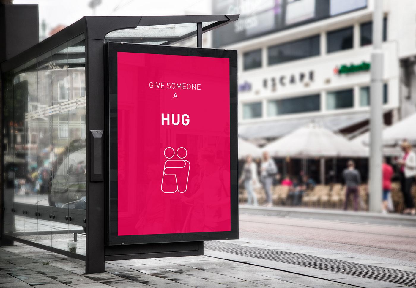 interactive poster ux communication billboard