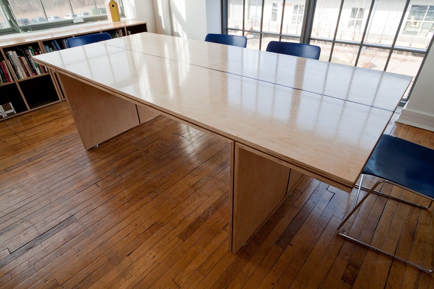 Conference Table Amp Shelves Smith Buckley Architects On
