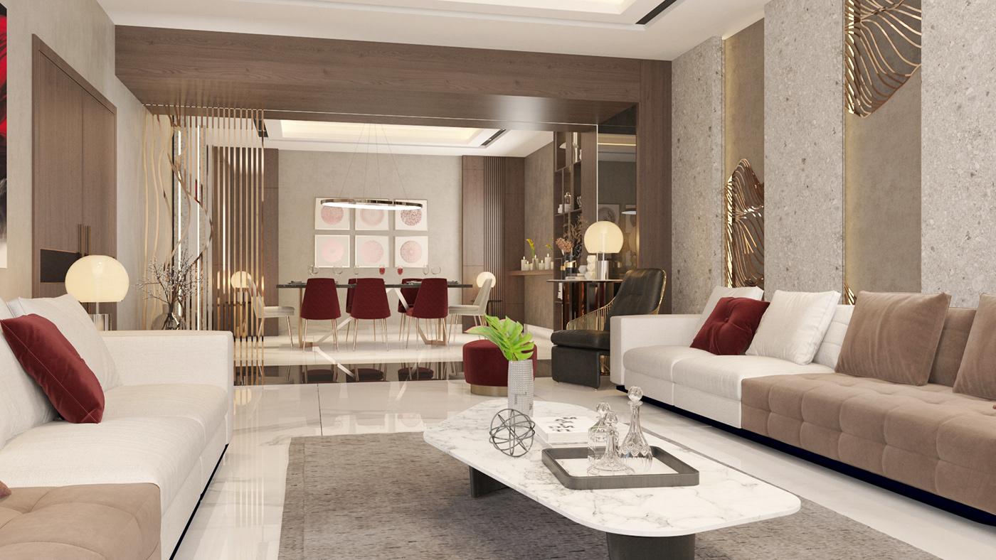 Image may contain: indoor, sofa and wall