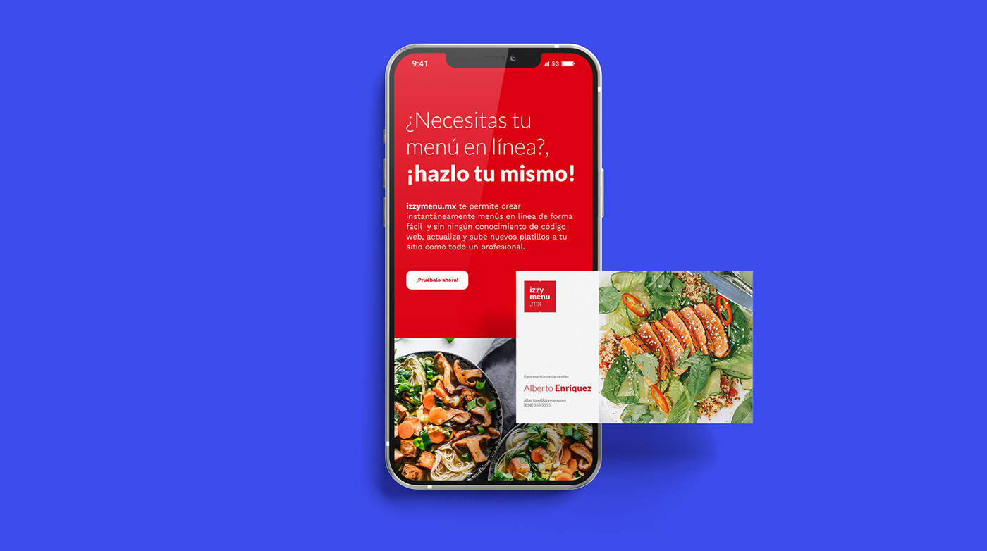 cms izzymenu menu online Responsive restaurant