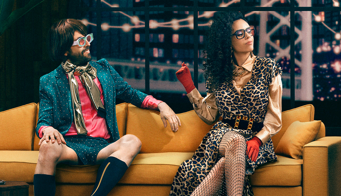 Creative Direction  estudio cielo late show set design  talk show tulio turina valentina corral