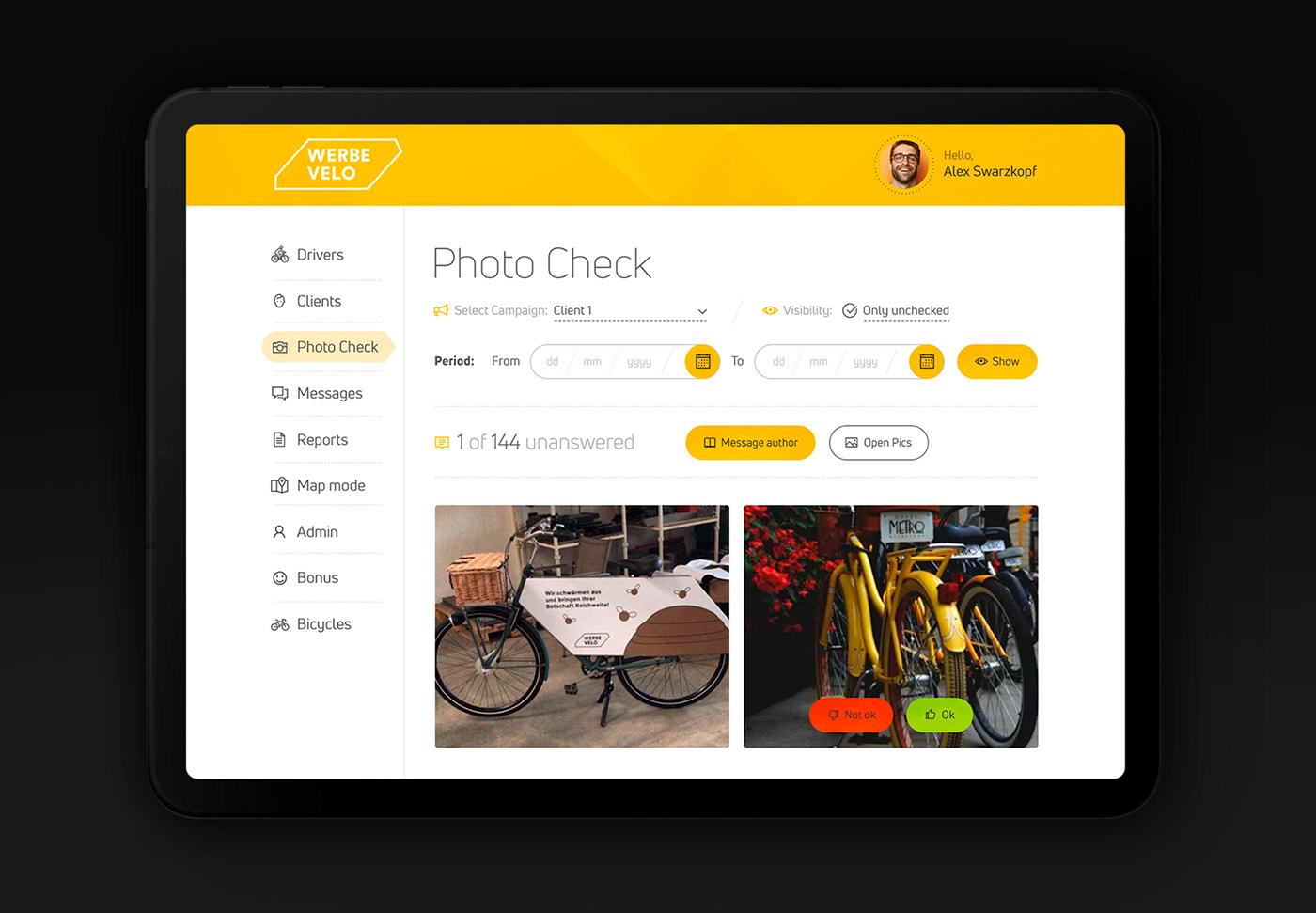 design development gps SAAS Startup system UI\UX Webdesign Website