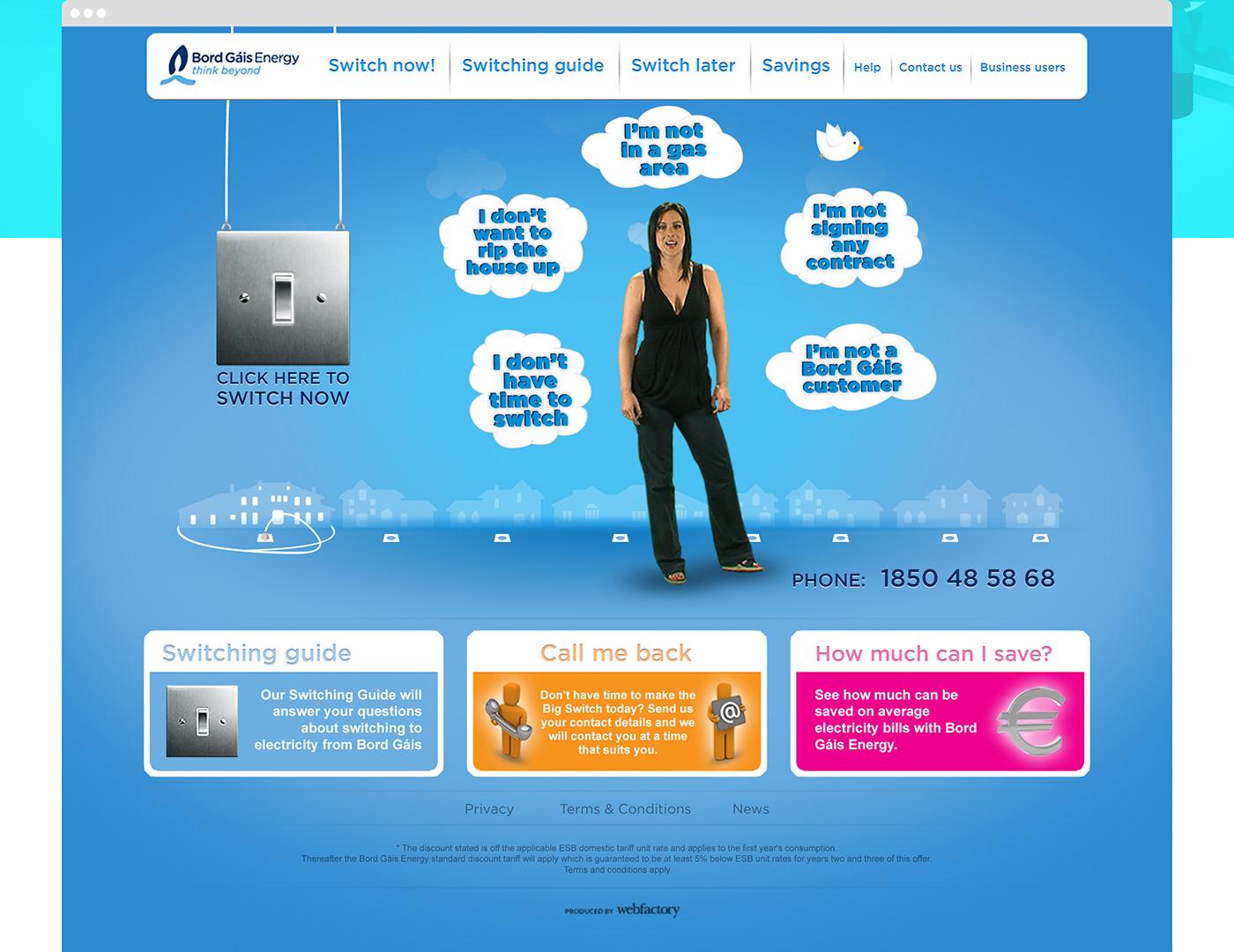 bord gais Website electricity