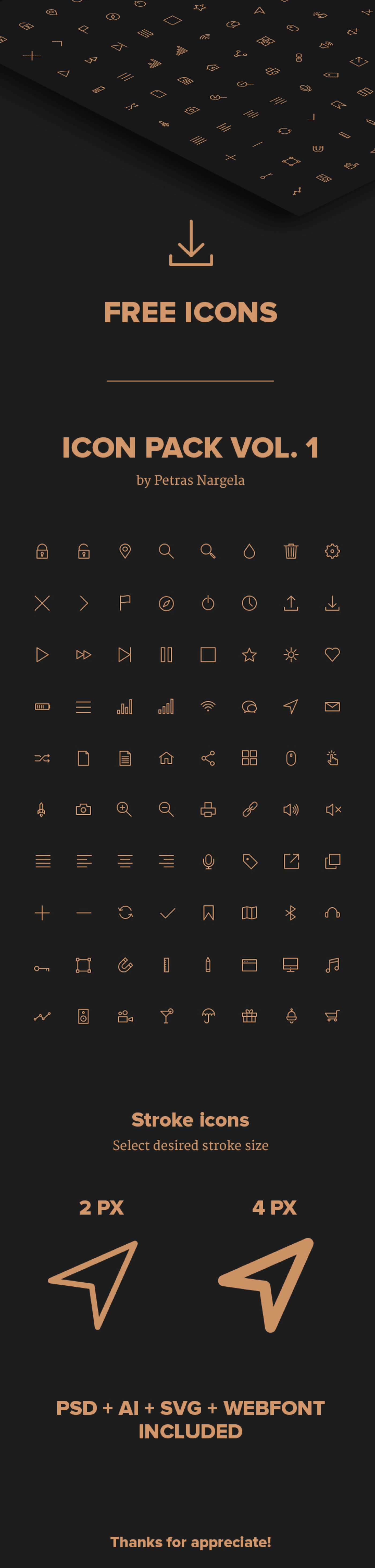 UI ios7 ux clean free icons psd ai Pack svg download webfont set uiux Webdesign