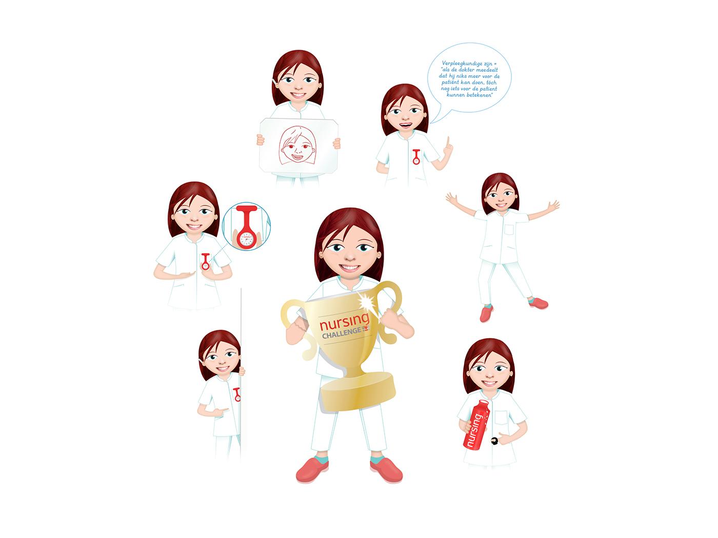 nursing Character ILLUSTRATION