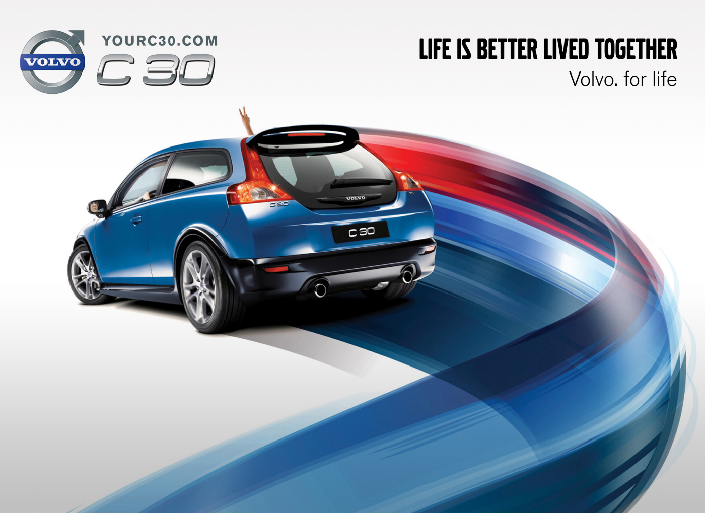 Volvo C30 On Behance