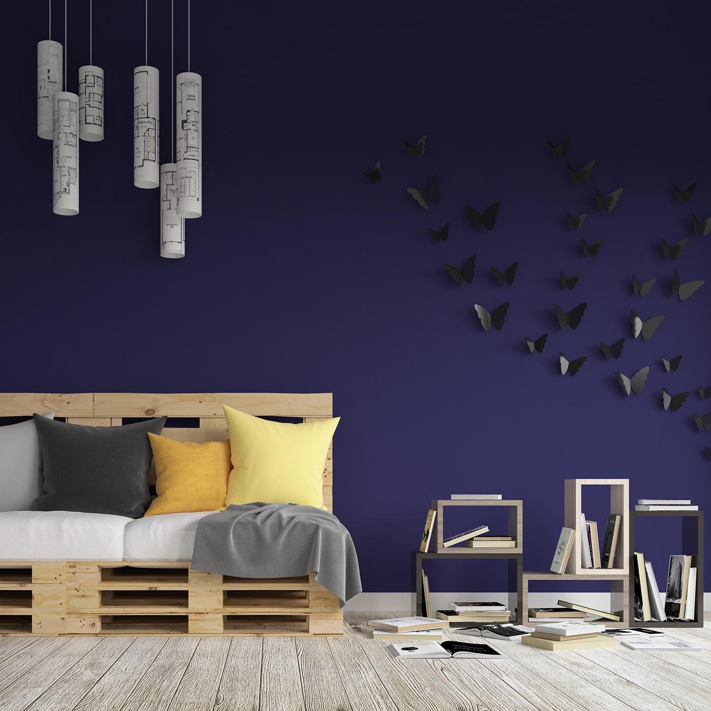 細緻的34套客廳牆壁顏色欣賞