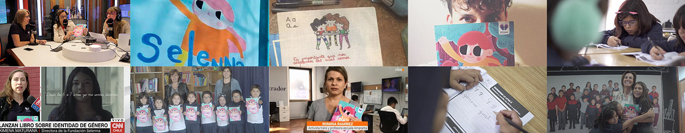 Infancia trans LGBT NIÑOS TRANS Escuela Amaranta Fundación Selenna