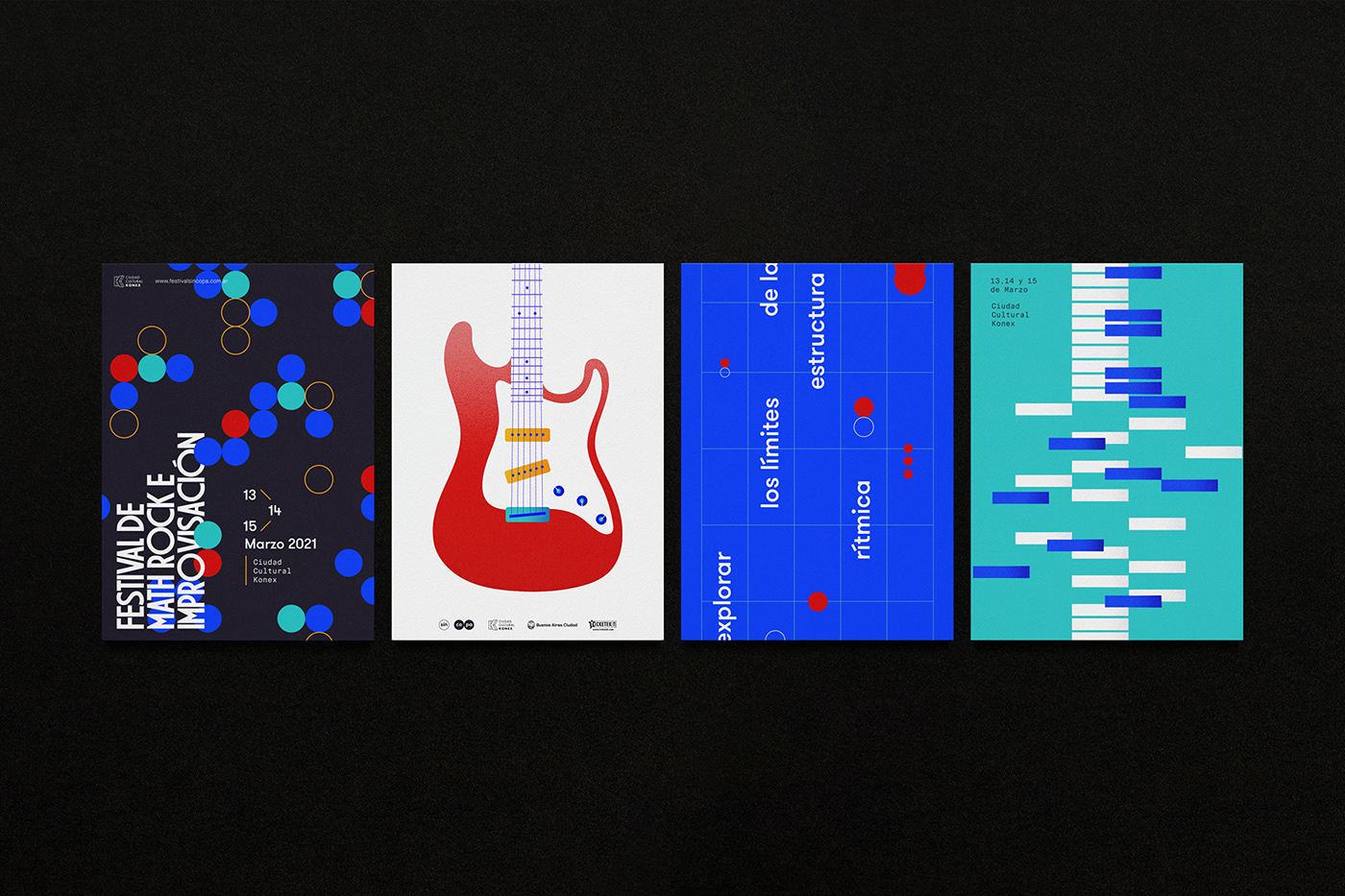 branding  fadu festival Gabriele identity music rock editorial jazz typography