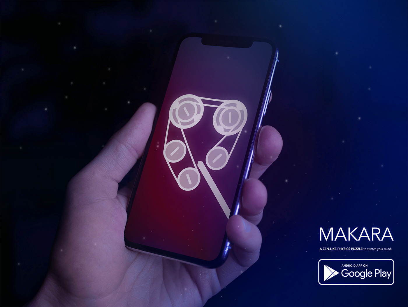 M A K A R A_ mobile puzzle game on Behance