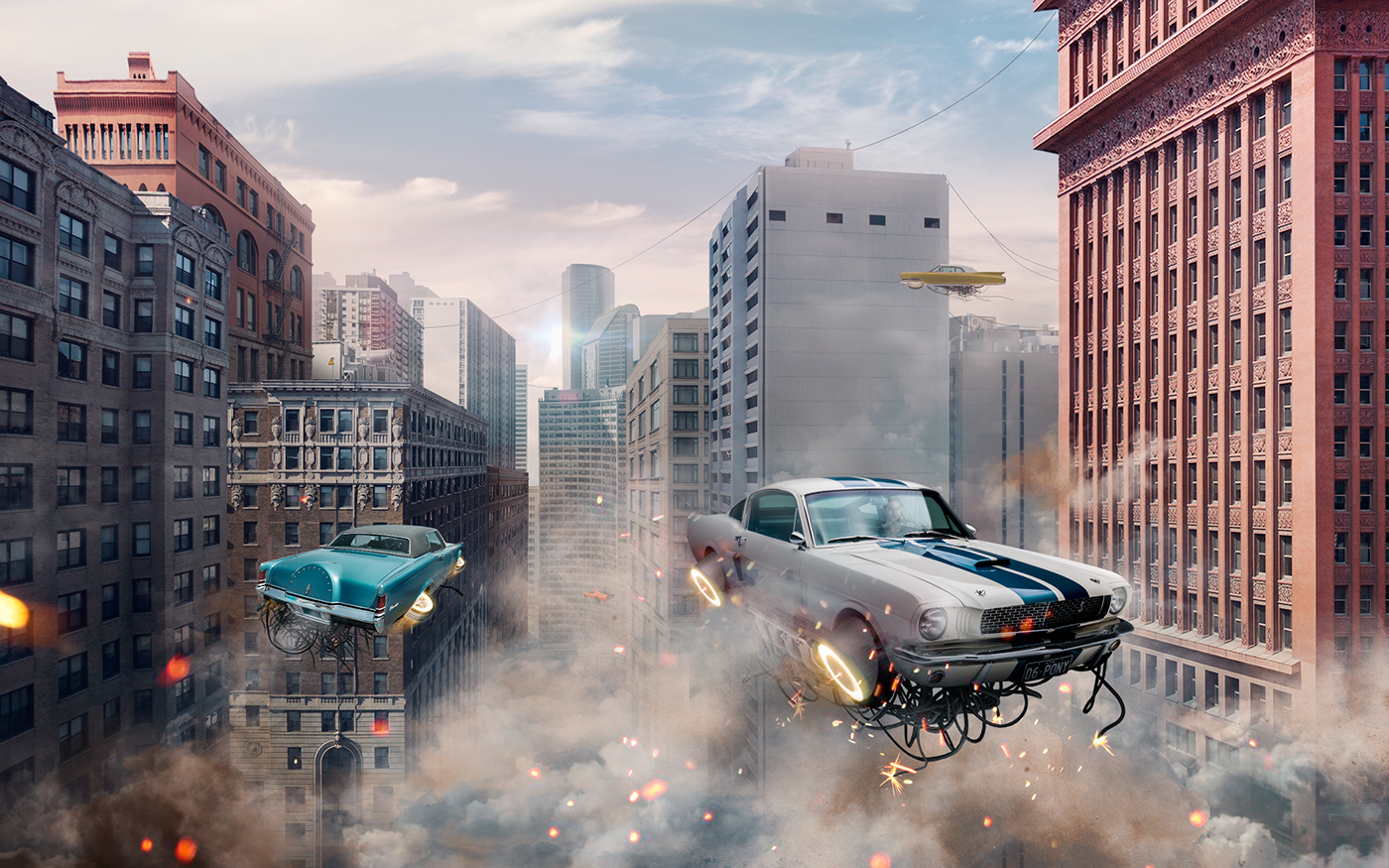 Retro Futuristic Cars  On Behance