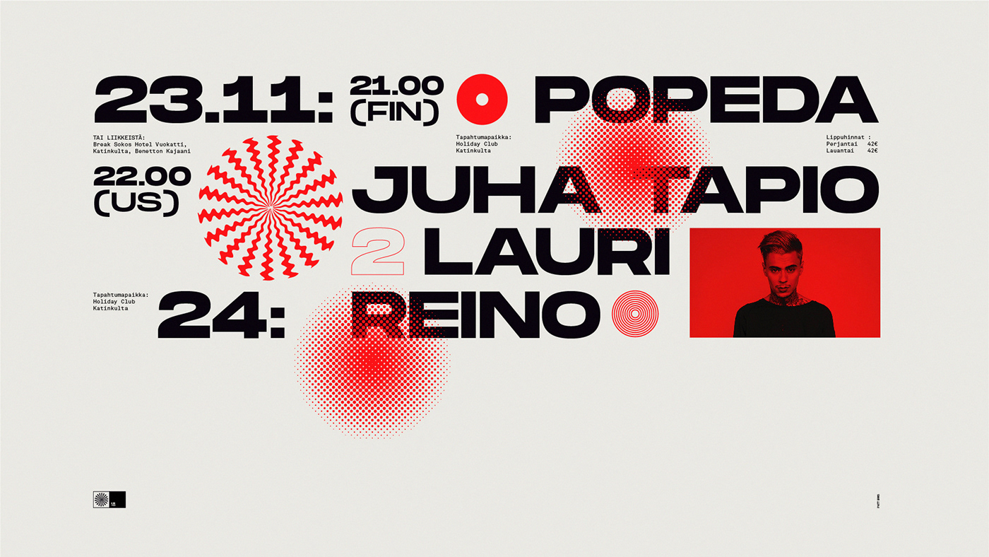 branding  music festival Event graphic design  art techno finland poster psychodelic