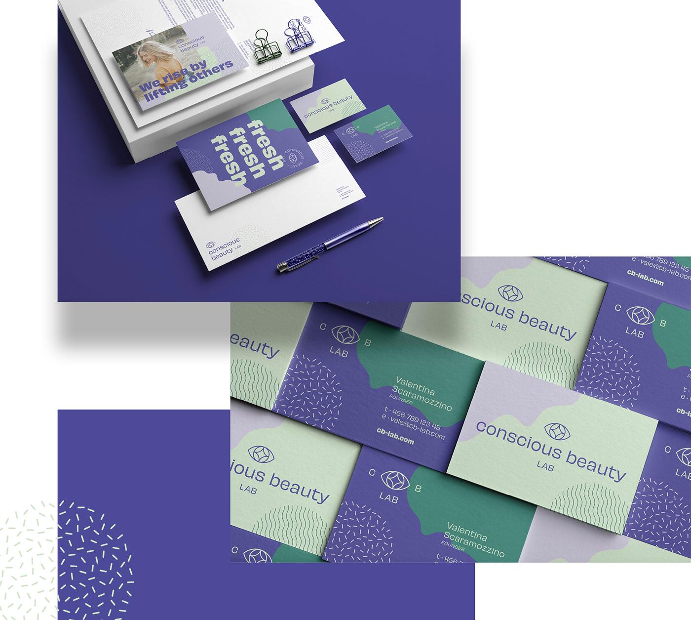 beauty branding  color palette conscious fresh identity lab Logo Design natural social media