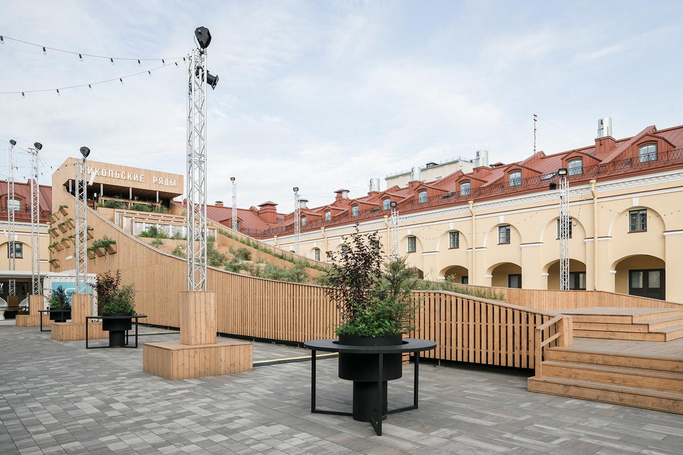 architecture contemporary architecture installation Katarsis katarsis ab katarsis architects public spaces russian architecture Saint-Petersburg structures