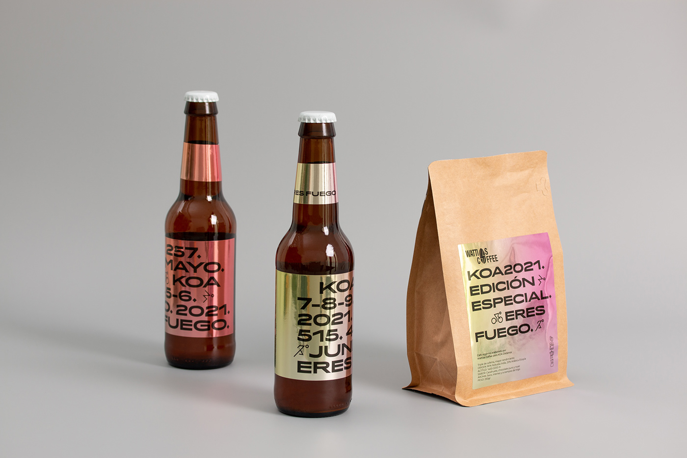 beer cafe cerveza Coffee etiqueta labeling Packaging sports Triathlon wear