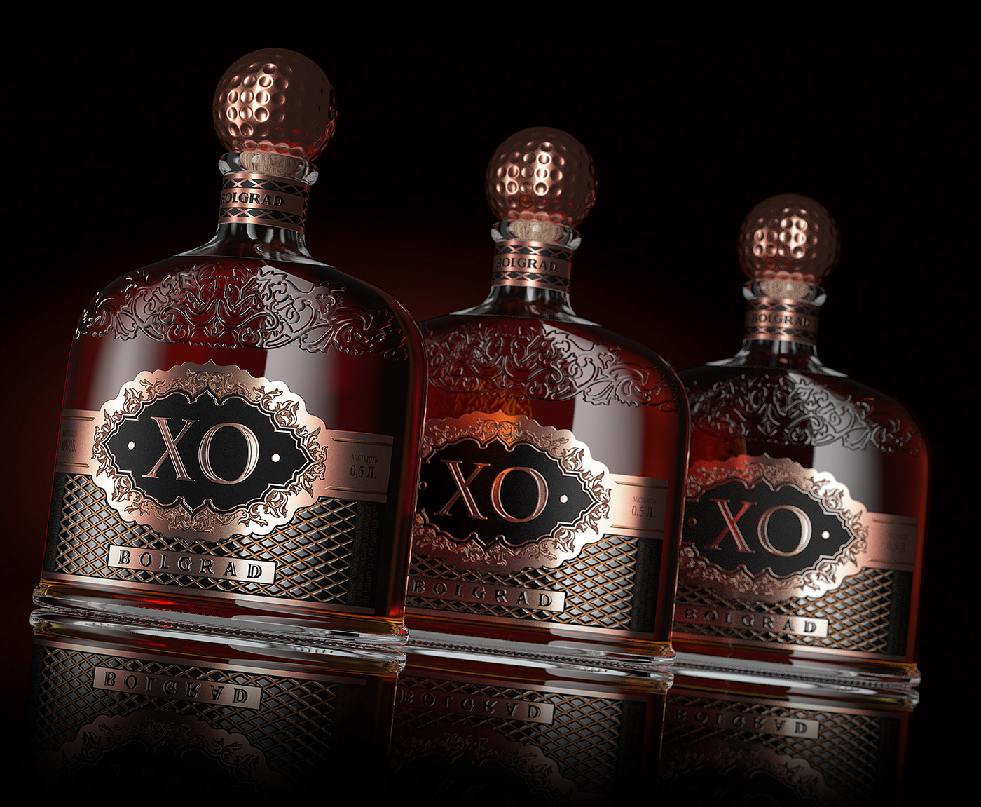 Cognac brandie bolgrad valerii sumilov shumilovedesign branding  Packaging Label design