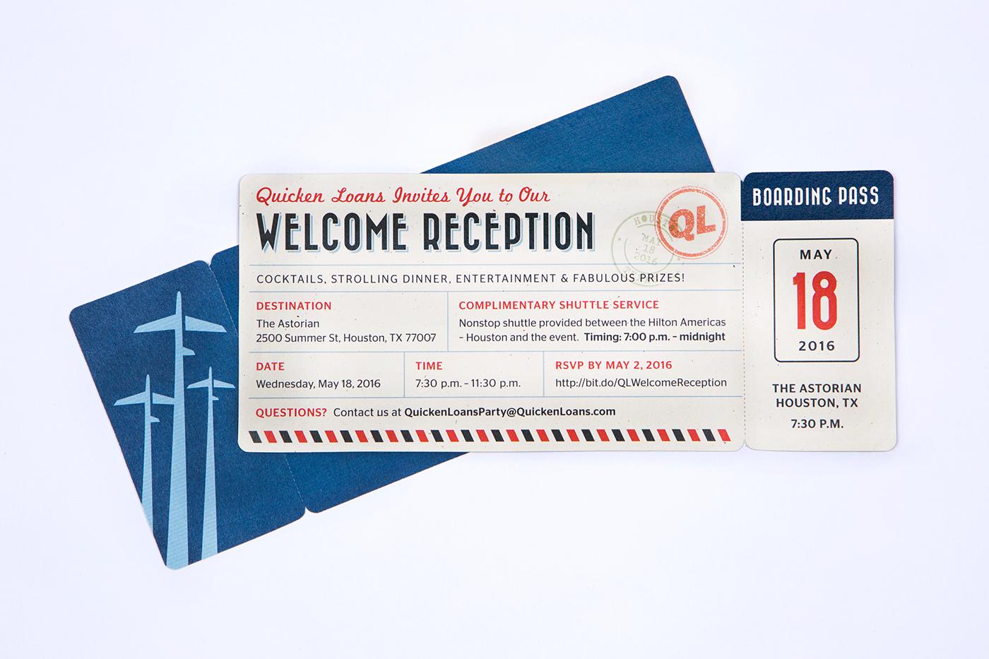 Invitation invite Travel vintage ticket Boarding Pass