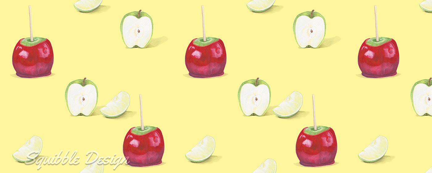 Food ,foodillustration,cookingillustration,recipeillustration,apples,candyapples,toffeeapples,dessert,Candy