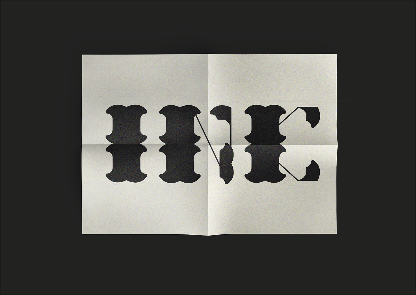 ink typography   graphic design  black bold serif Island graphic free font