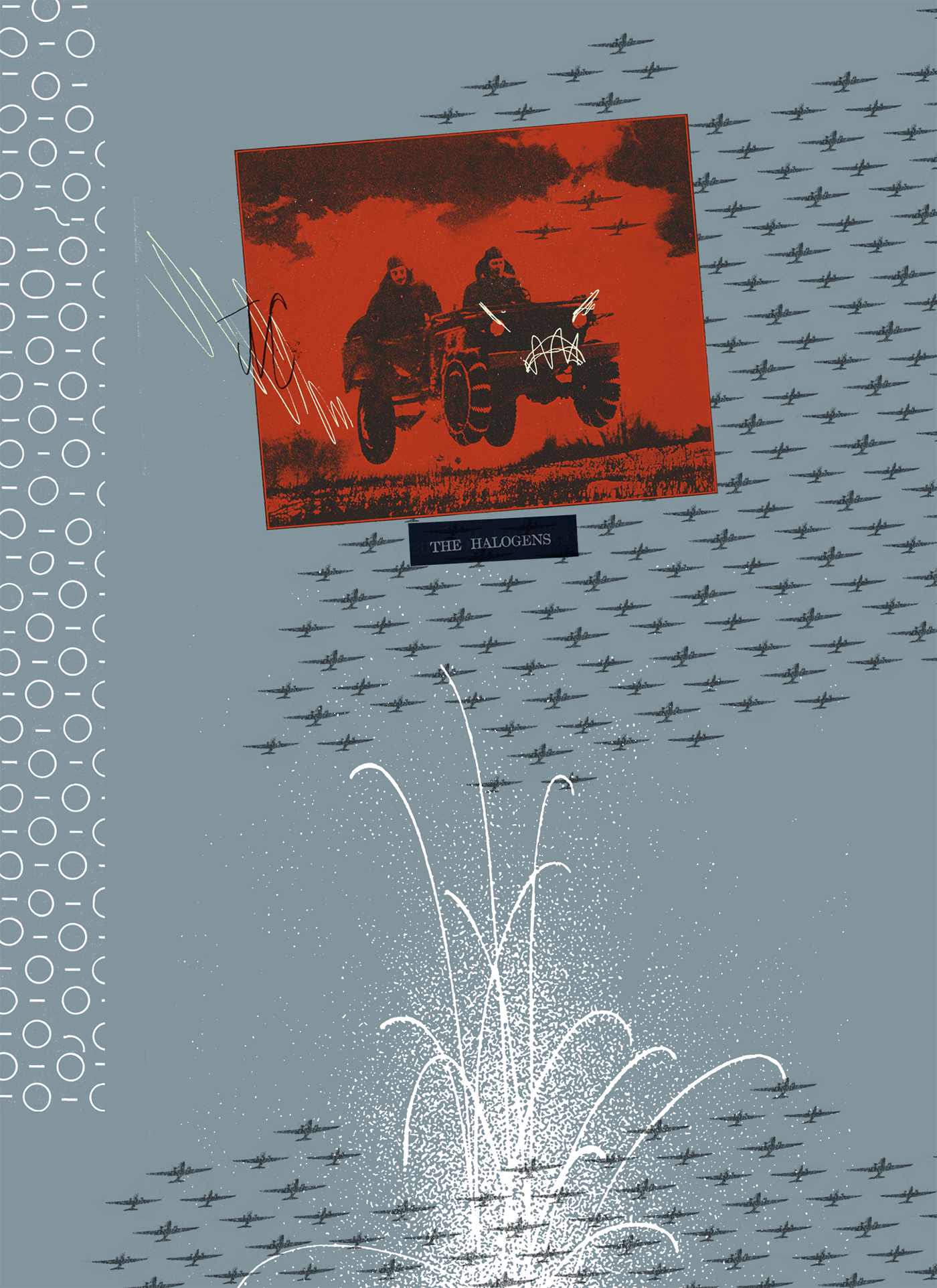 collage army Military chemistry chemist diamonds jewels bunson burner textbook element