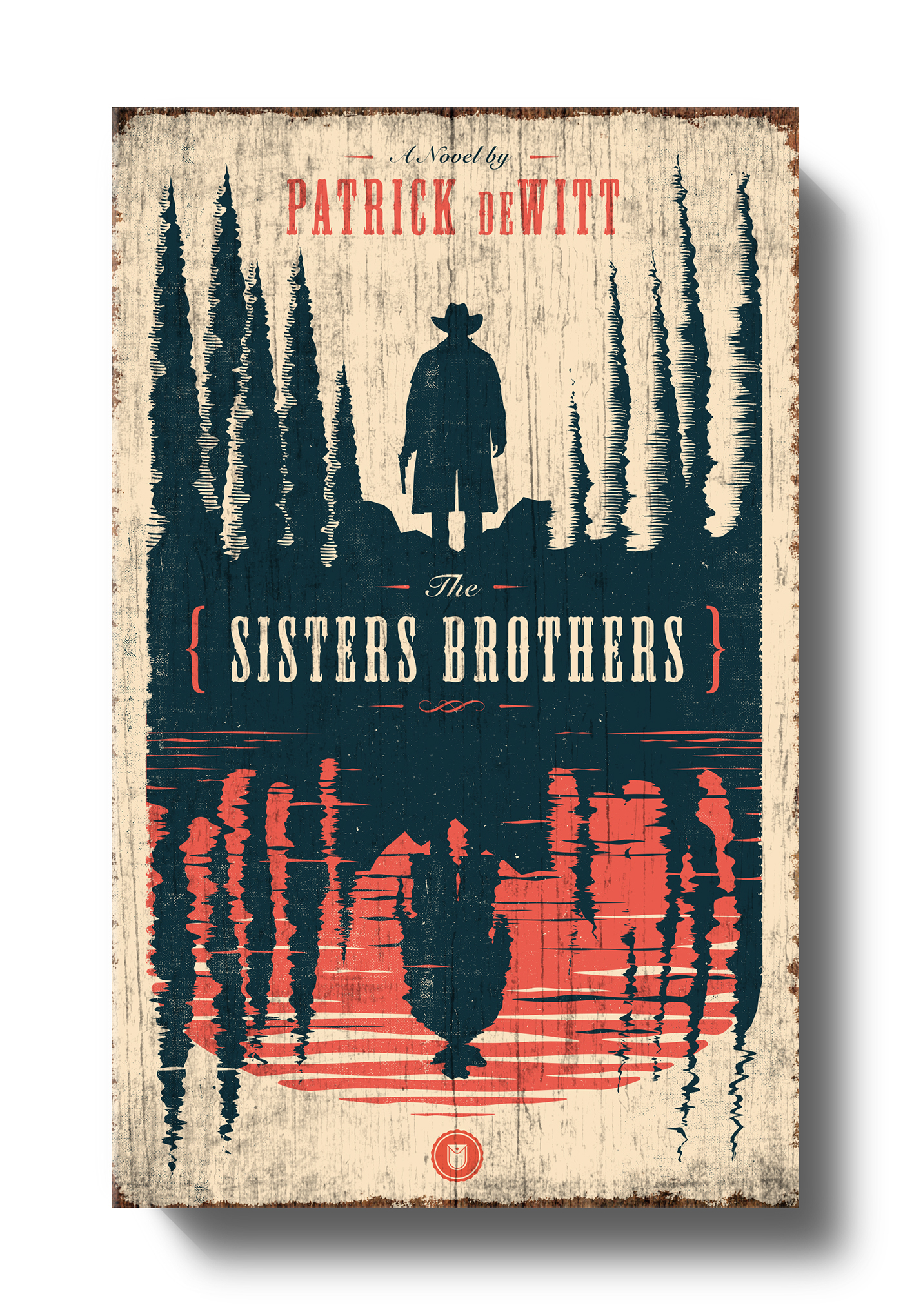 Poster design jobs uk - The Sisters Brothers Book Cover