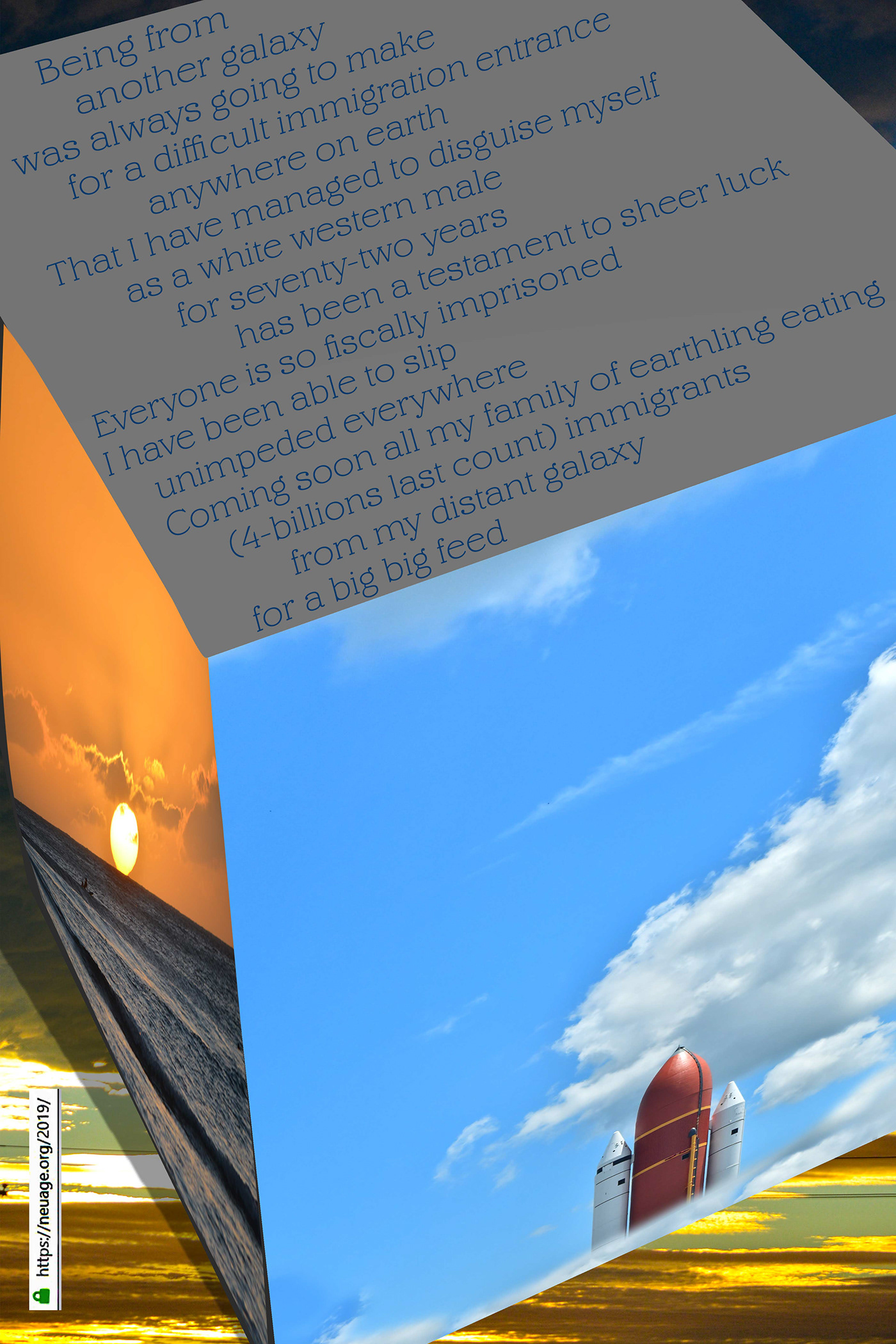 Image may contain: cloud, screenshot and sky
