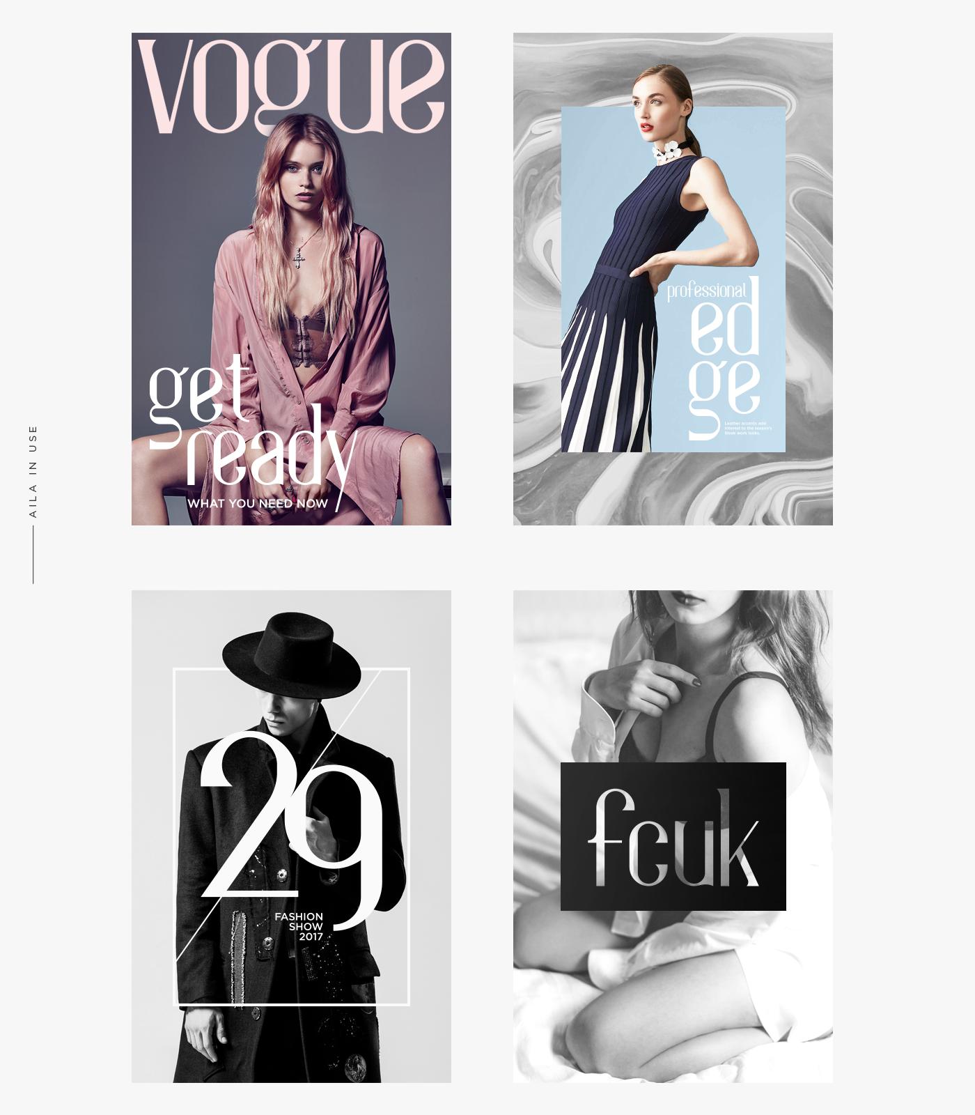 font Typeface Free font typography   luxury aila font free elegant download Fashion