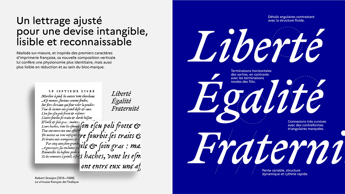 brand branding  Français france French institutionnel marianne republique state governement