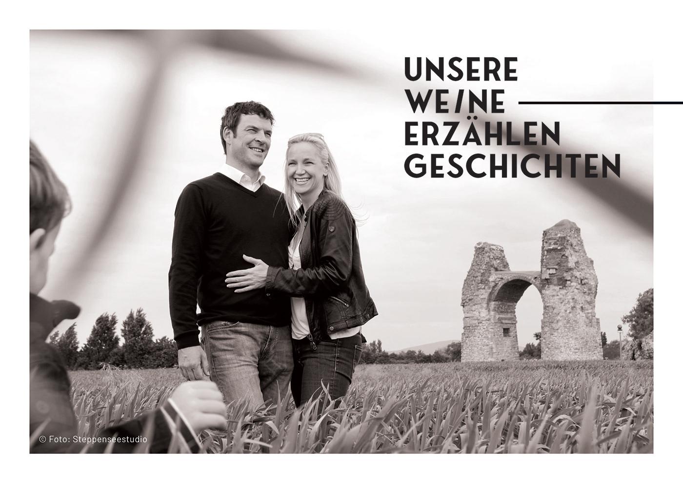 branding  Corporate Design Packaging Website wine