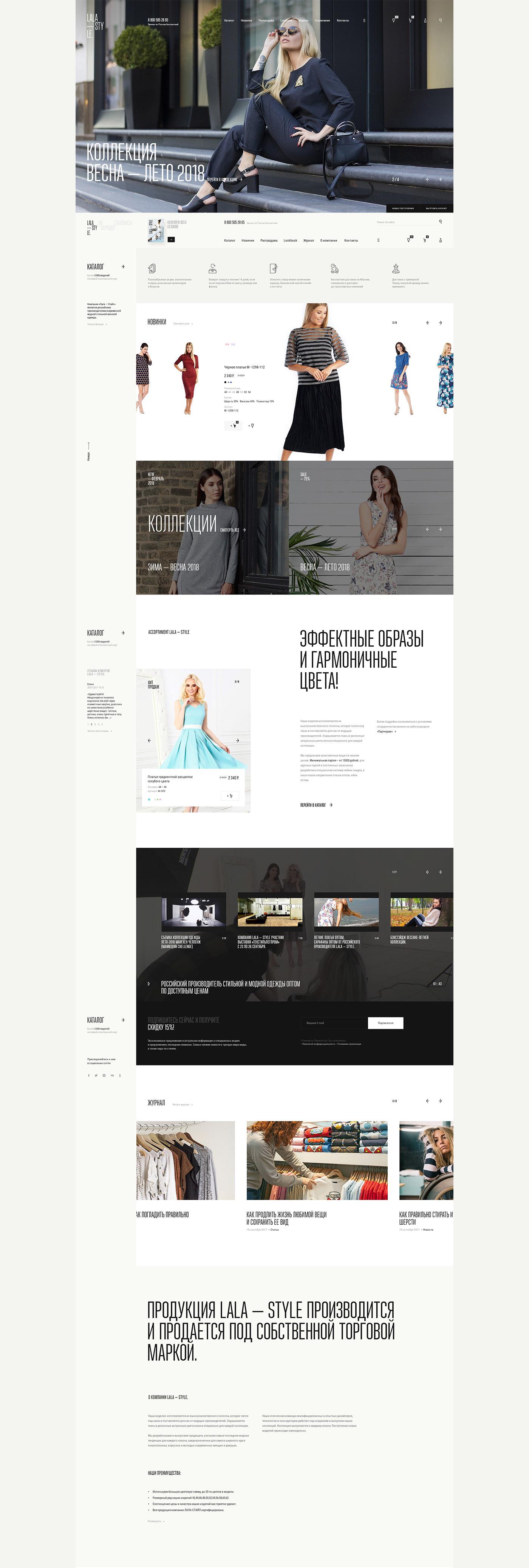 e-commerce shop store beauty Ecommerce wholesale clothes Fashion  Responsive ideas