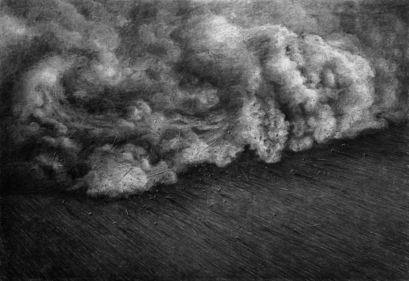levivanveluw Levi van Veluw kunst tekeningen houtskool