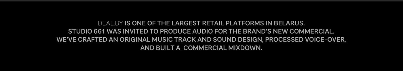 music sound design Audio Production 3D animation  motion grapics Advertising