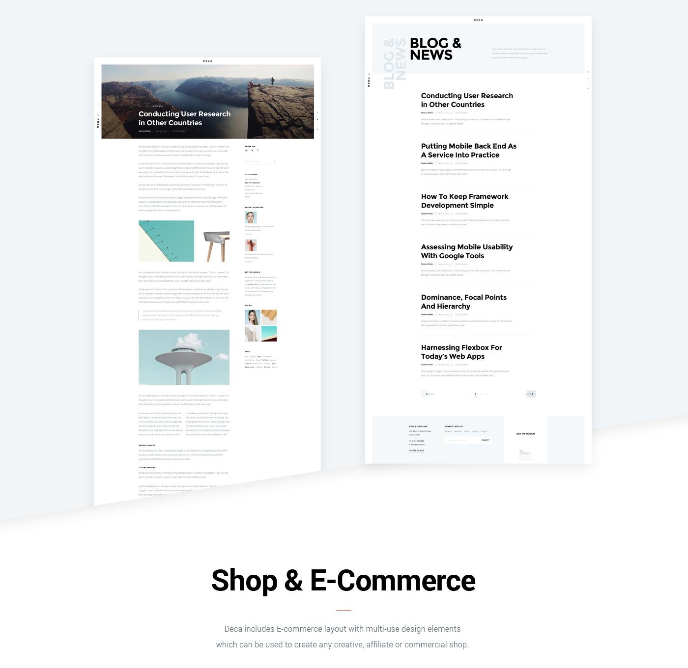 portfolio agency bold clean creative Ecommerce freelancer masonry   Multipurpose One Page minimal Responsive Website Case Study Vikram Verma