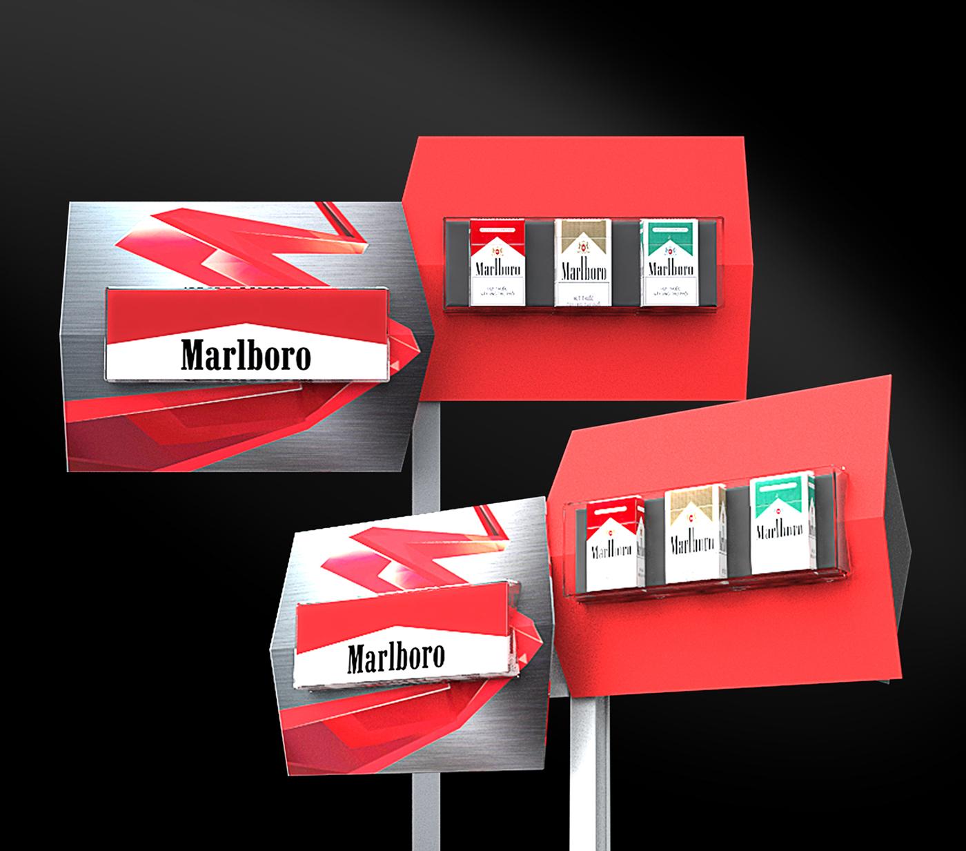 Marlboro Uniflex Point Of Sale On Behance