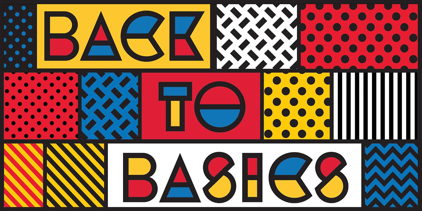 bauhaus mondrian typography   colorfont geometry modern