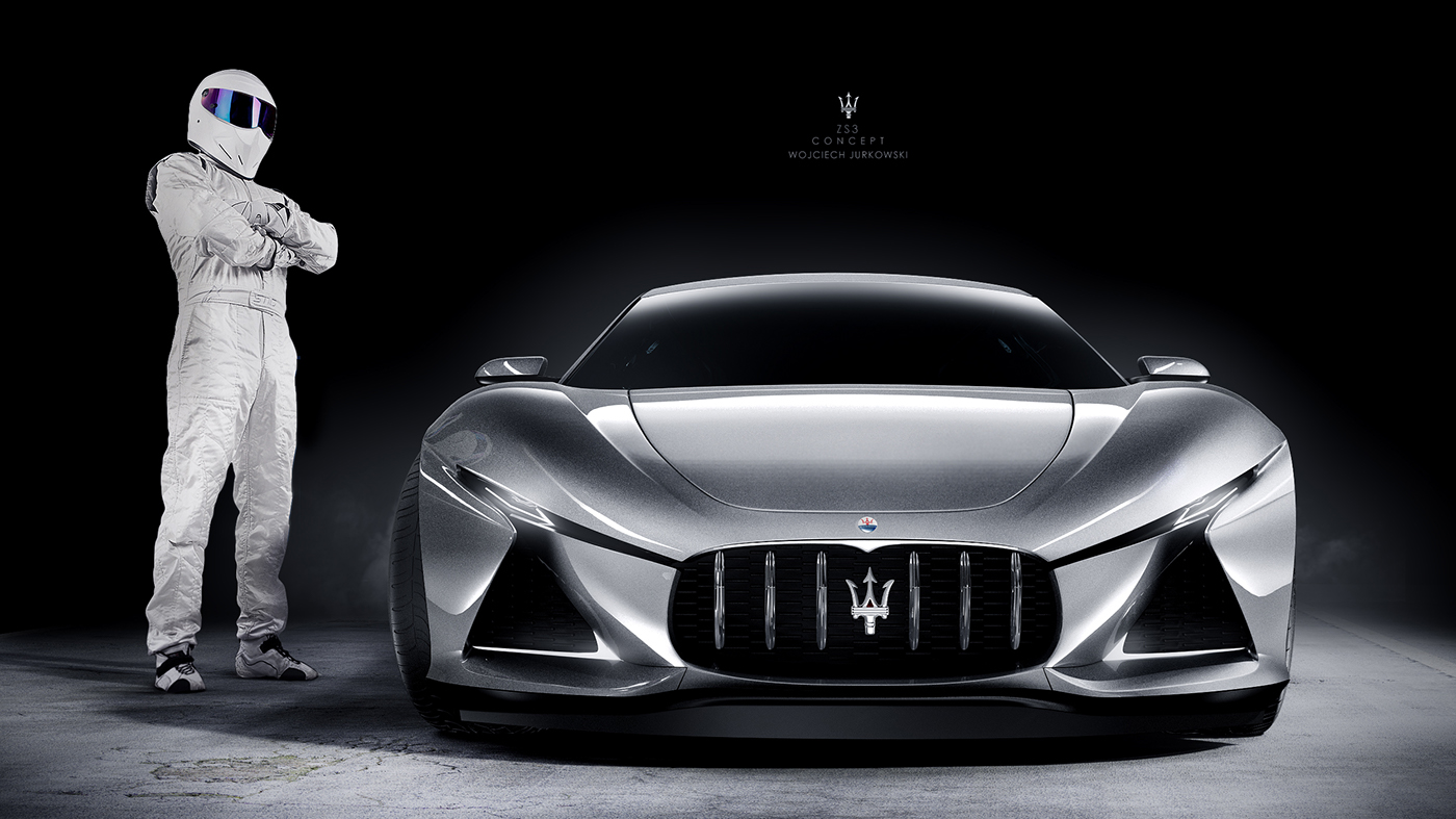 Maserati With Fashion Models
