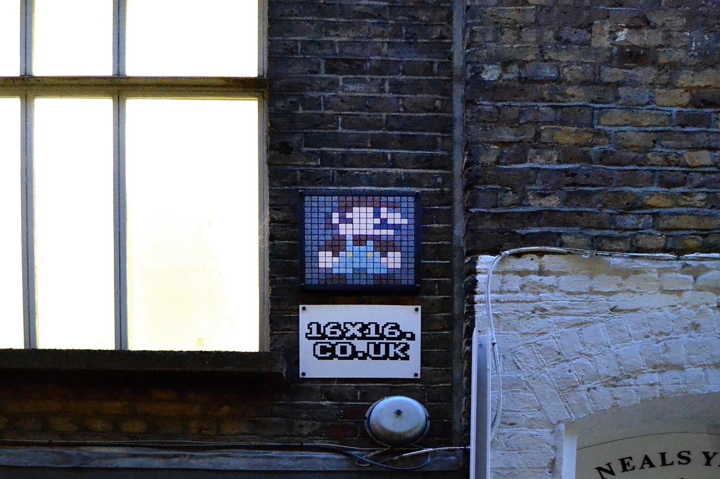 Editing  invader London Photography  Space Invaders street photography UK