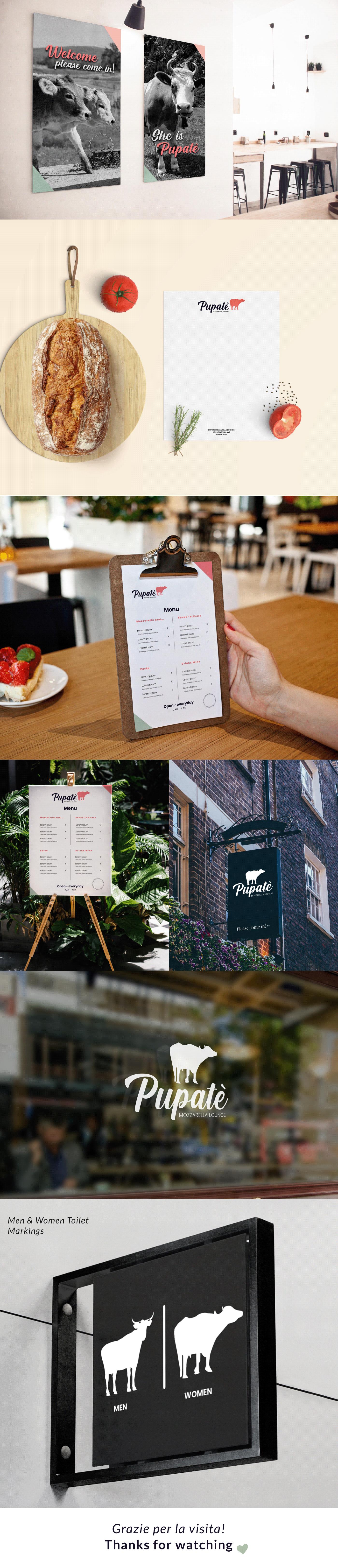 #LogoDesign brand idenity branding  identitàvisiva mozzarellalounge RestaurantBranding