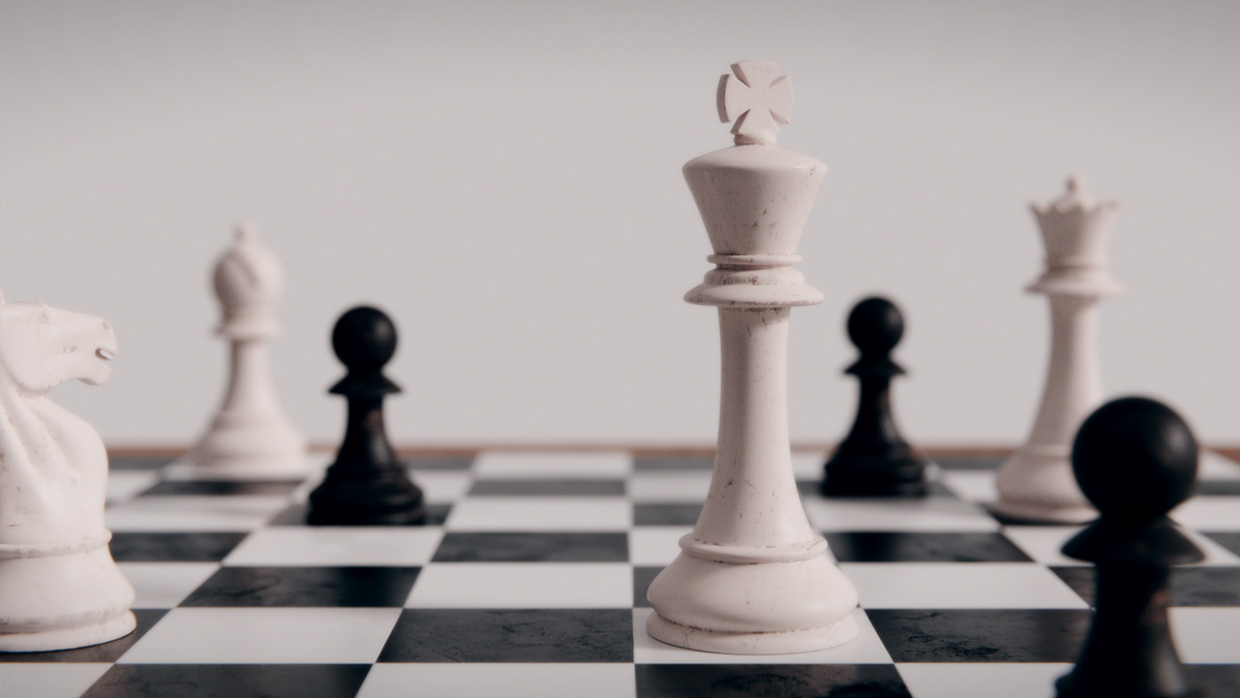 blender,cycles,3D,chess,wood,paint,filmic